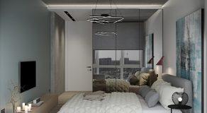 Спальня большая вид на шкаф 1