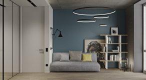 Спальня гостевая вид на диван 2
