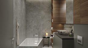Ванная Вид на ванную 2