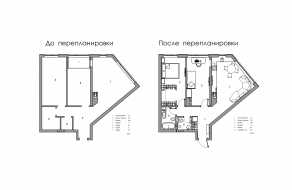 Белая квартира, 72 м2 | ст. м. Вокзальная | Слайд 12