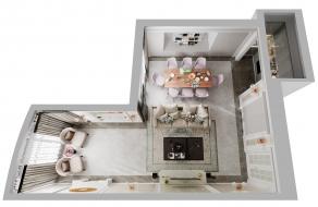 Ирина Терещенко | Современная классика, 112 м2 | ул. Шумского | Дизайн проект квартиры | слайд 1