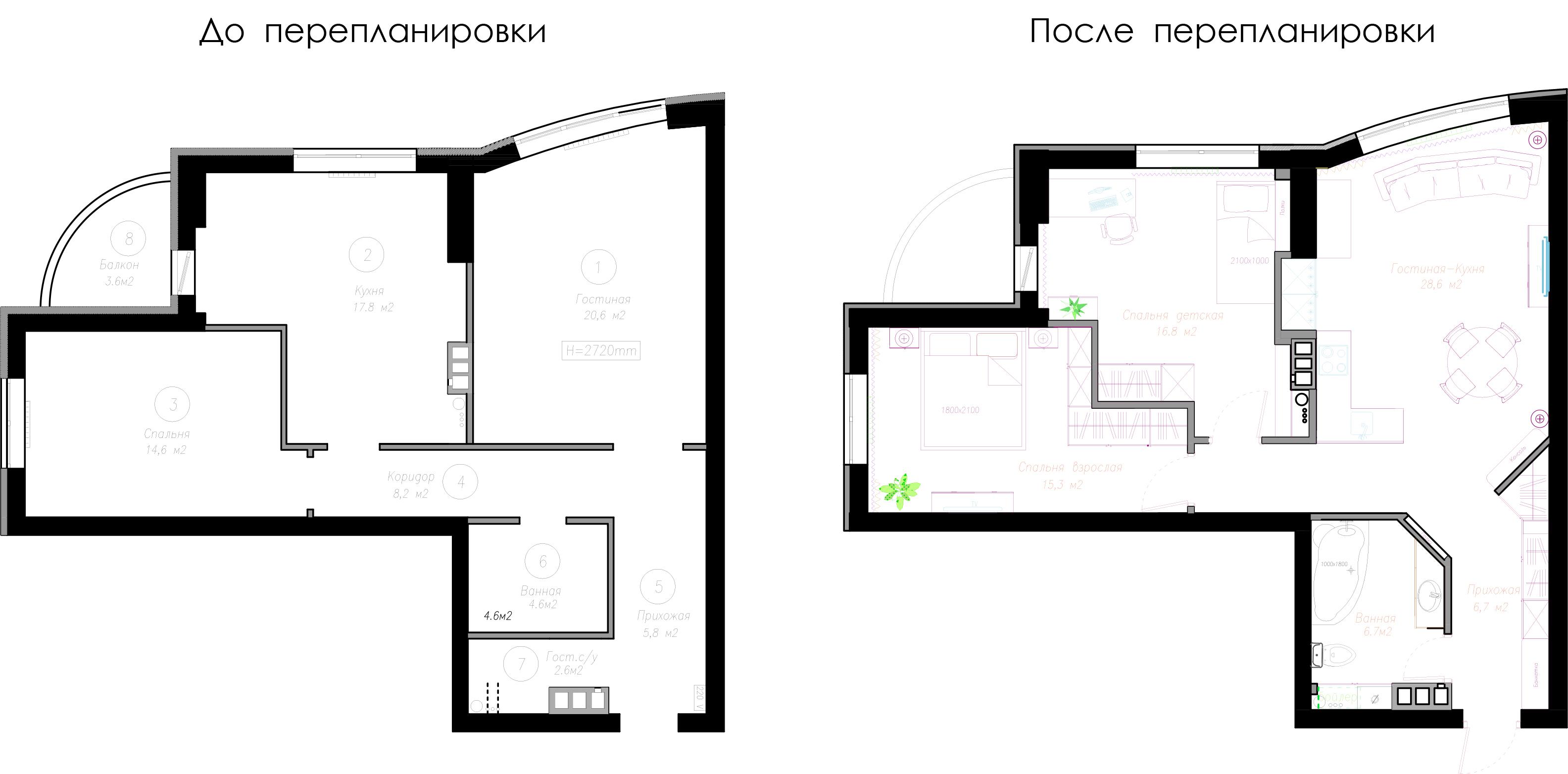 Дизайн проект. Ирина Терещенко. Краснозвездный проспект, слайд 4