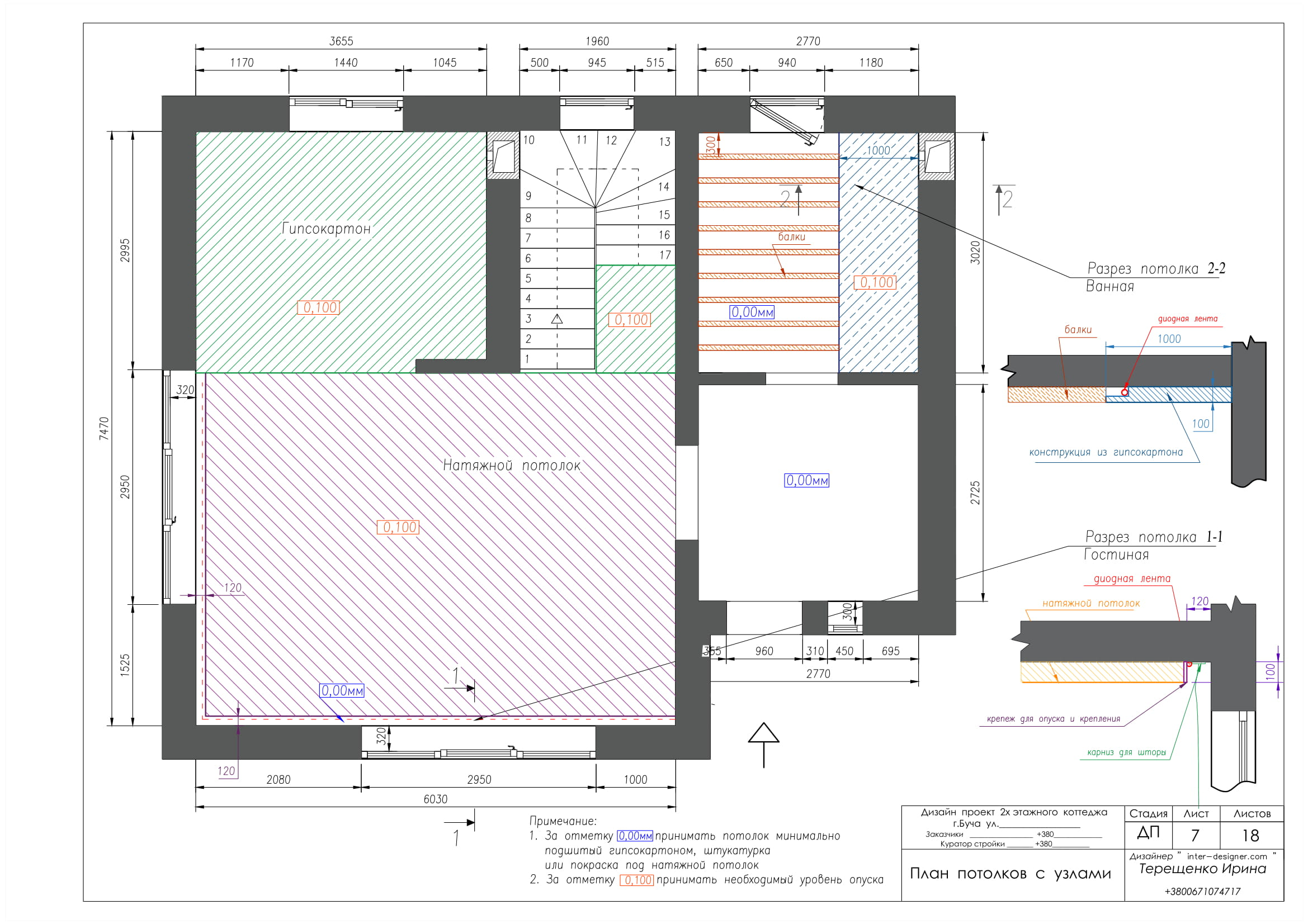 Дизайн проект. Ирина Терещенко. Пример пакета проектной документации, слайд 7